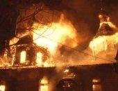 В Хабаровске сгорел храм Александра Невского