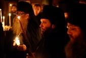 Иерей Николай Ольховский, избранный епископом Манхэттенским, викарием Восточно-Американской епархии, пострижен в монашество
