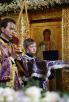 Патриаршее служение в неделю 5-ю Великого поста в храме Спаса Нерукотворного Образа на Сетуни