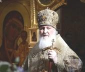 Проповедь Святейшего Патриарха Кирилла в неделю 5-ю Великого поста после Литургии в храме Спаса Нерукотворного Образа на Сетуни