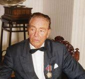 Патриаршее поздравление барону Эдуарду фон Фальц-Фейну со 100-летним юбилеем
