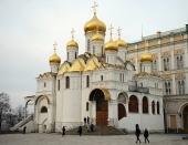 Проповедь Святейшего Патриарха Кирилла в праздник Благовещения Пресвятой Богородицы в Благовещенском соборе Московского Кремля