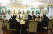 Началось первое в 2013 году заседание Священного Синода Русской Православной Церкви