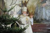 Патриаршее служение в Храме Христа Спасителя в праздник Рождества Христова