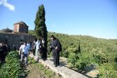 Святейший Патриарх Кирилл посетил скит Ксилургу