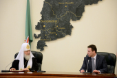 В Екатеринбурге состоялось подписание соглашения о сотрудничестве между субъектами Российской Федерации и епархиями, находящимися в пределах Уральского федерального округа