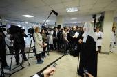 Святейший Патриарх Кирилл: Церковь готова работать с детьми-инвалидами