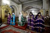 Состоялось наречение архимандрита Варлаама (Пономарева) во епископа Махачкалинского и архимандрита Игнатия (Румянцева) во епископа Уваровского
