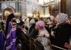 Патриаршее служение в праздник Входа Господня в Иерусалим в Храме Христа Спасителя. Хиротония архимандрита Игнатия (Бузина) во епископа Армавирского и Лабинского
