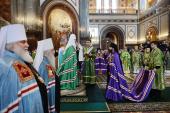 Слово Святейшего Патриарха Кирилла при вручении архиерейского жезла Преосвященному Игнатию (Бузину), епископу Армавирскому и Лабинскому