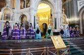 Проповедь Святейшего Патриарха Кирилла в праздник Входа Господня в Иерусалим в Храме Христа Спасителя
