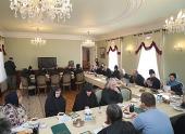 В Даниловом монастыре Москвы состоялось совещание информационной службы Синодального отдела по монастырям и монашеству