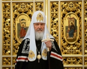Слово Святейшего Патриарха Кирилла в канун Великой среды в Покровском ставропигиальном женском монастыре