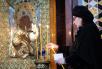 Патриаршее служение в канун Великой пятницы в Храме Христа Спасителя