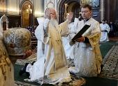 Святейший Патриарх Кирилл в преддверии праздника Святой Пасхи совершил молитву об Украине