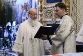 Предстоятель Русской Церкви вознес молитву о мире в Иерусалиме