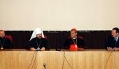 Митрополит Волоколамский Иларион встретился с группой паломников во главе с кардиналом Крещенцио Сепе, архиепископом Неаполитанским