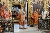 Слово Святейшего Патриарха Кирилла в четверг Светлой седмицы по окончании Литургии в Свято-Троицкой Сергиевой лавре