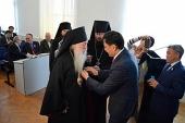 Архиепископ Антоний (Москаленко) стал почетным гражданином г. Уральска Республики Казахстан