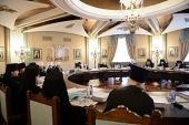 На заседании Высшего Церковного Совета состоялась презентация системы дистанционного образования Учебного комитета Русской Православной Церкви