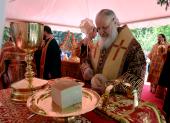 Святейший Патриарх Кирилл совершил в Пекине Божественную литургию