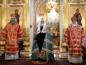 Слово Святейшего Патриарха Кирилла после Литургии в Покровском монастыре г. Москвы в 15-ю годовщину канонизации блаженной Матроны Московской