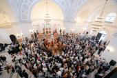 Святейший Патриарх Московский и всея Руси Кирилл совершил Божественную литургию в Шанхае