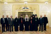 Святейший Патриарх Кирилл встретился с Маронитским Патриархом Бeшарой Бутросом ар-Раи