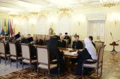Святейший Патриарх Кирилл встретился с делегацией Национального совета церквей Кореи