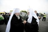 Предстоятель Русской Церкви прибыл в Ставрополь