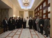 Святейший Патриарх Кирилл встретился с муфтиями регионов, входящих в состав Северо-Кавказского федерального округа
