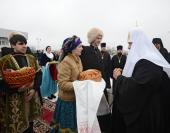 Предстоятель Русской Церкви прибыл в Пятигорскую епархию