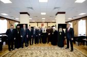 Святейший Патриарх Кирилл встретился с руководителями регионов Северо-Кавказского федерального округа