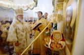 Предстоятель Русской Церкви освятил Спасский собор в Пятигорске