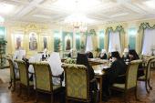 Завершился первый день заседаний Священного Синода Русской Православной Церкви