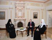 Состоялась встреча Предстоятелей Русской и Грузинской Православных Церквей с Президентом Российской Федерации В.В. Путиным