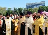 В Одессе прошли заупокойные богослужения по погибшим в ходе беспорядков