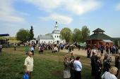 Музей святой Матроны Московской открылся на родине блаженной старицы в селе Себино Тульской области