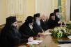 Встреча Святейшего Патриарха Кирилла с Предстоятелем Грузинской Православной Церкви