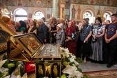 Более сорока тысяч жителей Южного Казахстана поклонились Поясу Пресвятой Богородицы в Чимкенте