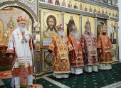 Проповедь Святейшего Патриарха Кирилла после Литургии в Троице-Сергиевом Варницком монастыре