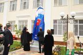 У стен православной гимназии в Черкесске открыт памятник преподобному Сергию Радонежскому