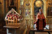 В преддверии 70-летия со дня блаженной кончины Святейшего Патриарха Сергия (Страгородского) в Богоявленском кафедральном соборе столицы совершена панихида
