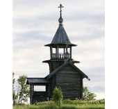 Благовест для звонницы часовни в деревне Вигово доставлен на остров Кижи к 300-летию Преображенской церкви