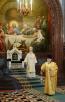 Патриаршее служение в день памяти св. равноап. Нины в Храме Христа Спасителя. Хиротония архимандрита Варлаама (Пономарева) во епископа Махачкалинского и Грозненского