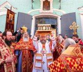 45 тысяч жителей города Уральска и Западно-Казахстанской области поклонились Поясу Пресвятой Богородицы
