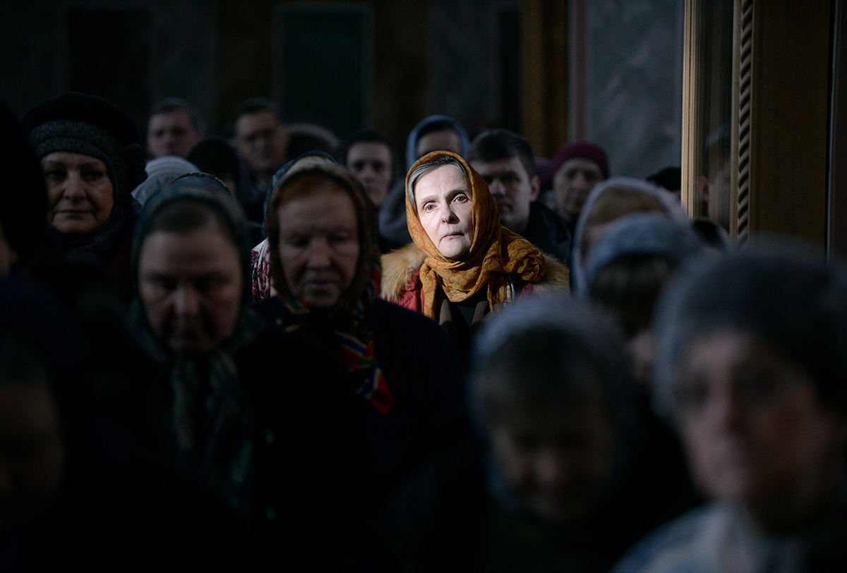 Патриаршее служение во вторник первой седмицы Великого поста в Покровском Хотьковом монастыре