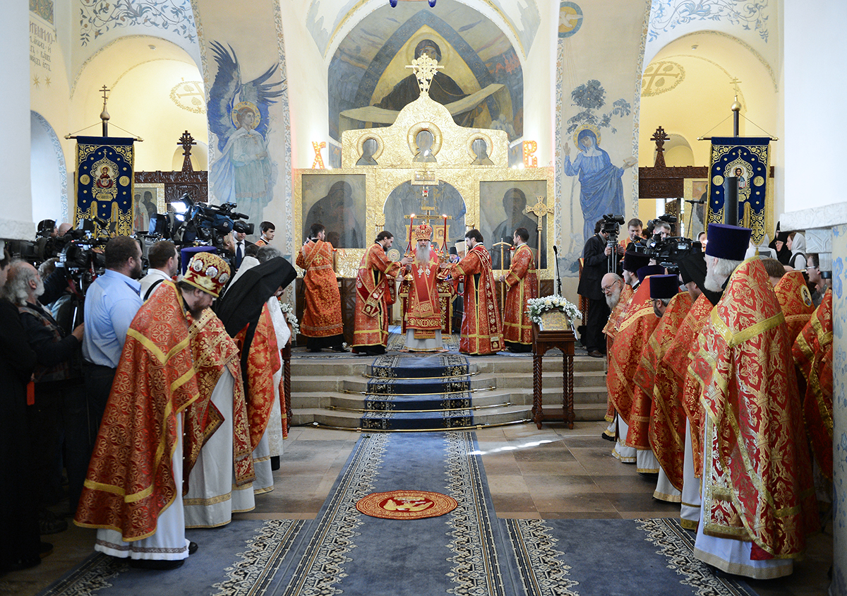 Посещение Святейшим Патриархом Кириллом Марфо-Мариинской обители милосердия г. Москвы