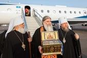 Состоялось принесение ковчега с частицей Пояса Пресвятой Богородицы в Астраханскую область
