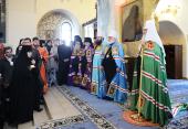 Слово Святейшего Патриарха Кирилла после Божественной литургии в Марфо-Мариинской обители милосердия г. Москвы